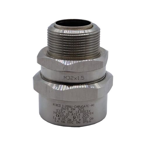 Single seal barrier cable gland PMX Series for unarmoured cable