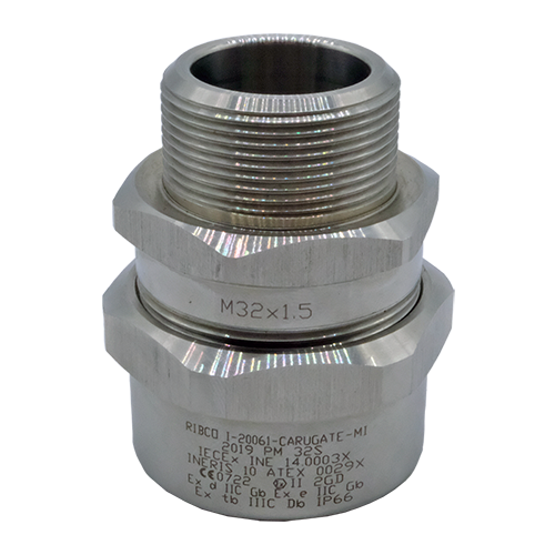Cable glands PM Series - Single seal cable gland for unarmoured cable