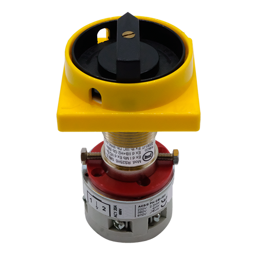 Explosionproof rotary cam switch with triangle key for hazardous area Series H5