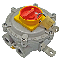 02 LCS3L explosion proof lockable switch rotary cam for hazardous area