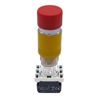 Explosionproof Emergency Pushbutton rotary release for hazardous area Series EFR3