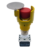 Explosionproof Emergency Pushbutton rotary release with guard for hazardous area Series EFR3GP