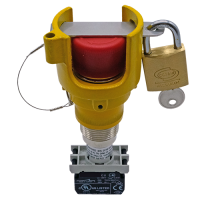 Explosionproof Emergency Pushbutton rotary release with guard for hazardous area Series EFRGL