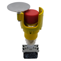 Explosionproof Emergency Pushbutton rotary release with guard for hazardous area Series EFRGP