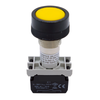 Explosionproof Pushbutton spring return for hazardous area Series EPG