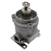 LCS1Y explosion proof switch with yale key rotary cam for hazardous area